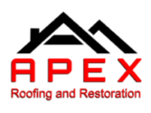 APEX Roofing and Restoration Logo